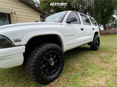 1998 Dodge Durango - 18x9 18mm - Anthem Off-Road Instigator - Leveling Kit - 275/65R18