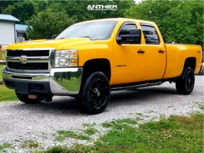 2008 Chevrolet Silverado 3500 HD - 20x9 -12mm - Anthem Off-Road Defender - Leveling Kit - 265/60R20