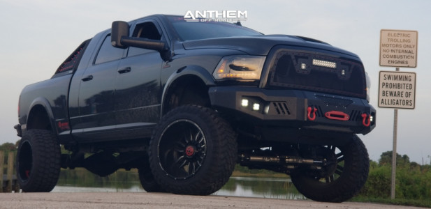 "2014 Ram 2500 - 22x14 -76mm - Anthem Off-Road Equalizer - Suspension Lift 6.5"" - 37"" x 13.5"""
