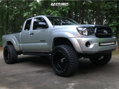 "2010 Toyota Tacoma - 20x12 -44mm - Anthem Off-Road Gunner - Suspension Lift 4"" - 33"" x 12.5"""