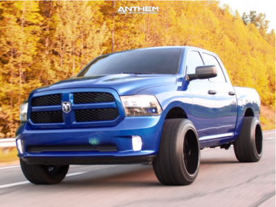 "2014 Ram 1500 - 22x14 -76mm - Anthem Off-Road Instigator - Leveling Kit - 33"" x 14.5"""