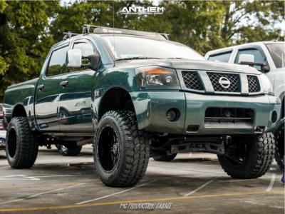 "2004 Nissan Titan - 20x12 -44mm - Anthem Off-Road Equalizer - Stock Suspension - 35"" x 12.5"""