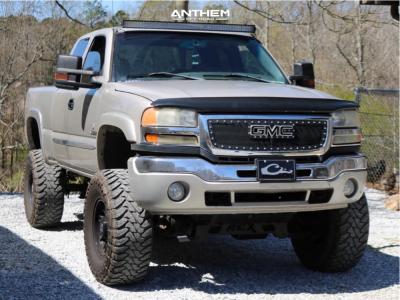 "2006 GMC Sierra 2500 HD - 17x9 0mm - Anthem Off-Road Equalizer - Suspension Lift 9"" - 37"" x 13.5"""
