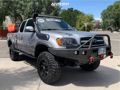 "2001 Toyota Tundra - 17x9 0mm - Anthem Off-Road Instigator - Suspension Lift 3"" - 33"" x 12.5"""