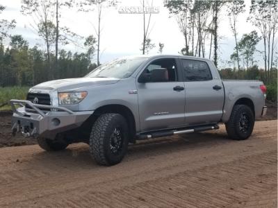 2008 Toyota Tundra - 18x9 18mm - Anthem Off-Road Enforcer - Leveling Kit - 295/70R18