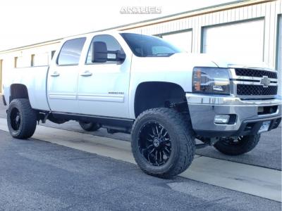 "2013 Chevrolet Silverado 2500 HD - 20x10 -24mm - Anthem Off-Road Equalizer - Suspension Lift 6"" - 35"" x 12.5"""