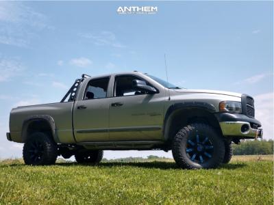 "2005 Dodge Ram 2500 - 17x9 -12mm - Anthem Off-Road Defender - Suspension Lift 3"" - 35"" x 12.5"""