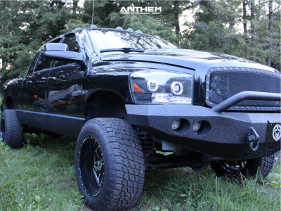 "2006 Dodge Ram 2500 - 20x12 -44mm - Anthem Off-Road Gunner - Suspension Lift 3"" - 35"" x 12.5"""