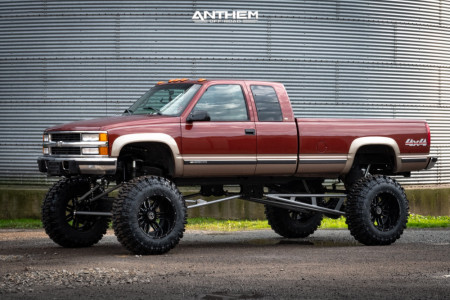 "1998 Chevrolet K2500 - 22x14 -76mm - Anthem Off-Road Equalizer - Lifted >12"" - 42"" x 13.5"""