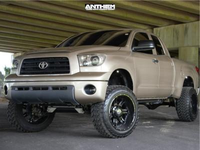 "2007 Toyota Tundra - 22x12 -44mm - Anthem Off-Road Aviator - Suspension Lift 8"" - 35"" x 12.5"""