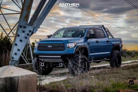 "2019 Toyota Tundra - 20x12 -44mm - Anthem Off-Road Commander - Suspension Lift 6"" - 37"" x 12.5"""