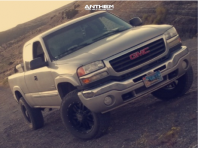 2007 GMC Sierra 2500 HD Classic - 20x9 0mm - Anthem Off-Road Equalizer - Stock Suspension - 285/65R20