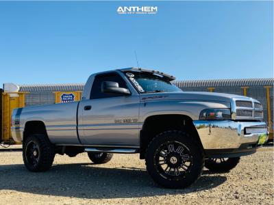 """1999 Dodge Ram 1500 - 20x10 -24mm - Anthem Off-Road Enforcer - Leveling Kit - 33"""" x 12.5"""""""