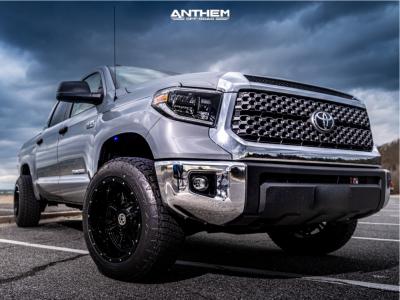 2019 Toyota Tundra - 20x12 -44mm - Anthem Off-Road Instigator - Leveling Kit - 275/60R20