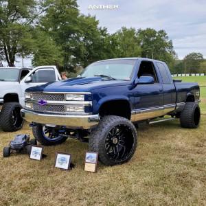 """1998 Chevrolet K1500 - 22x14 -76mm - Anthem Off-Road Equalizer - Suspension Lift 4"""" - 33"""" x 14.5"""""""