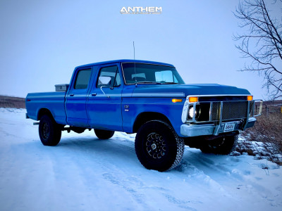 1976 Ford F-250 - 17x9 0mm - Anthem Off-Road Intimidator - Stock Suspension - 285/70R17