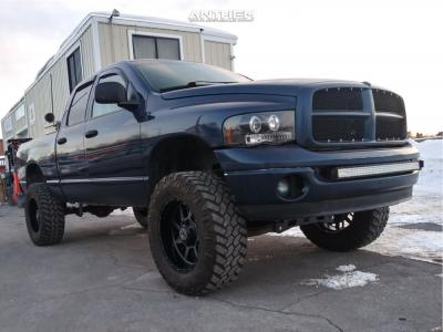 "2003 Dodge Ram 1500 - 20x10 -24mm - Anthem Off-Road Gunner - Suspension Lift 5"" - 35"" x 12.5"""