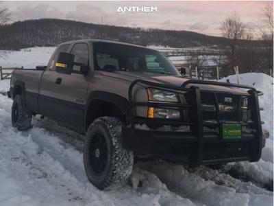 "2003 Chevrolet Silverado 2500 HD - 18x9 0mm - Anthem Off-Road Commander - Stock Suspension - 33"" x 12.5"""