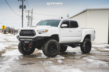 "2017 Toyota Tacoma - 17x9 0mm - Anthem Off-Road Intimidator - Suspension Lift 6"" - 315/70R17"