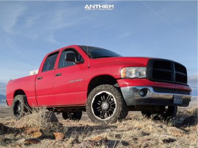 2005 Dodge Ram 1500 - 20x10 -24mm - Anthem Off-Road Enforcer - Stock Suspension - 295/55R20