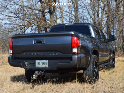 2019 Toyota Tacoma - 18x9 12mm - Anthem Off-Road Equalizer - Stock Suspension - 285/65R18