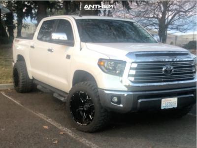 "2019 Toyota Tundra - 20x12 -44mm - Anthem Off-Road Equalizer - Leveling Kit - 33"" x 12.5"""