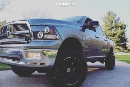 "2009 Dodge Ram 1500 - 20x12 -44mm - Anthem Off-Road Aviator - Suspension Lift 6"" - 35"" x 12.5"""