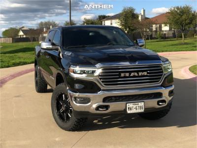 "2019 Ram 1500 - 20x9 0mm - Anthem Off-Road Equalizer - Suspension Lift 3.5"" - 35"" x 12.5"""