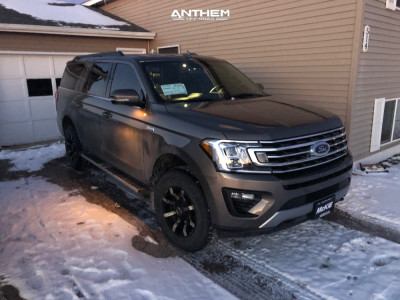 2018 Ford Expedition - 18x9 18mm - Anthem Off-Road Defender - Leveling Kit - 275/70R18