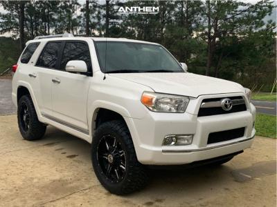 "2010 Toyota 4Runner - 20x9 12mm - Anthem Off-Road Equalizer - Suspension Lift 3"" - 275/60R20"