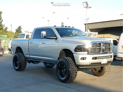"2011 Dodge Ram 2500 - 20x12 -44mm - Anthem Off-Road Gunner - Suspension Lift 8"" - 38"" x 15.5"""