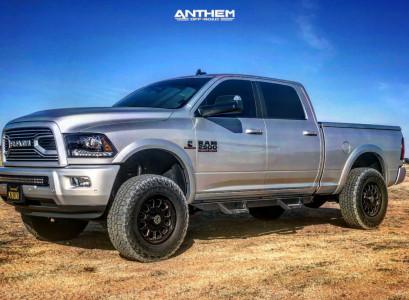 2018 Ram 2500 - 18x9 -18mm - Anthem Off-Road Intimidator - Leveling Kit - 285/75R18