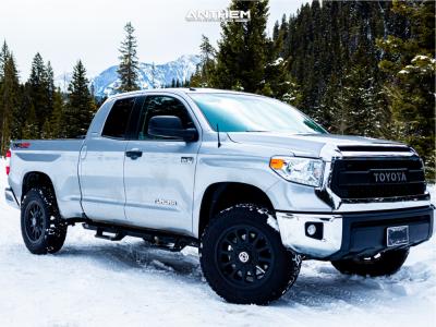 "2015 Toyota Tundra - 20x9 18mm - Anthem Off-Road Intimidator - Suspension Lift 2.5"" - 275/65R20"